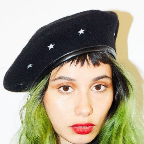 fae73cc3 & Other Stories Accessories | Valfre Cosmic Star Wool Beret | Poshmark